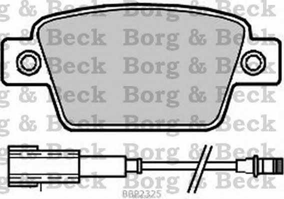 BORG & BECK BBP2325