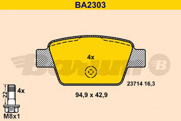 BARUM BA2303
