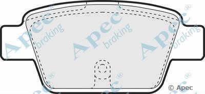 APEC braking PAD1260