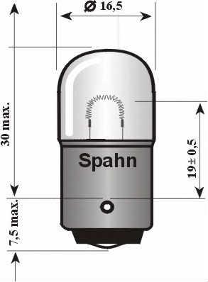 SPAHN GLÜHLAMPEN 2521