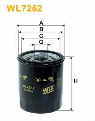 WIX FILTERS WL7252