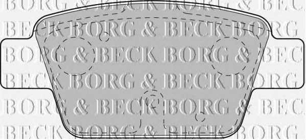 BORG & BECK BBP1718