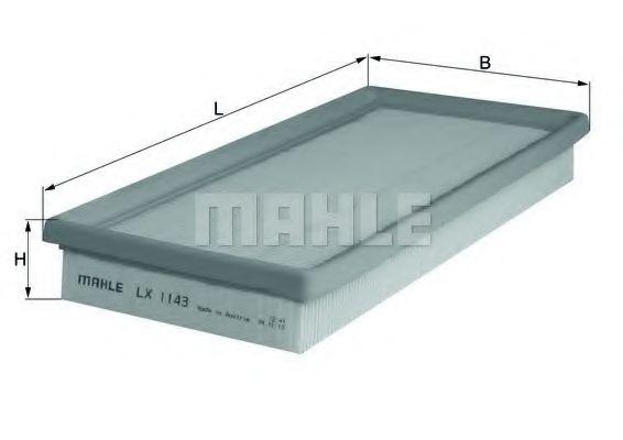 MAHLE ORIGINAL LX 1143