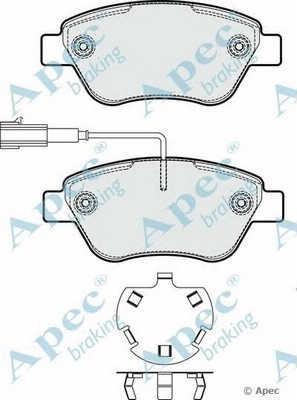 APEC braking PAD1775